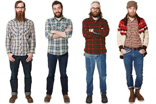 hipsters are an uncommon site on factory floors