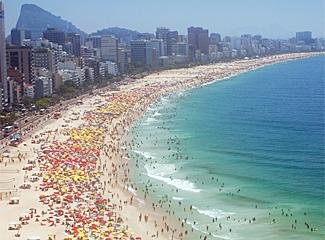 copacabana brazil brics export sales