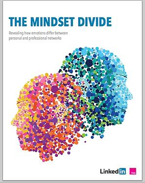 social media b2b marketing mindset divide