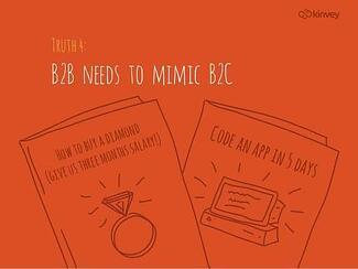 B2B marketing storytelling like B2C
