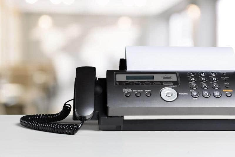 fax machine and conversational marketing