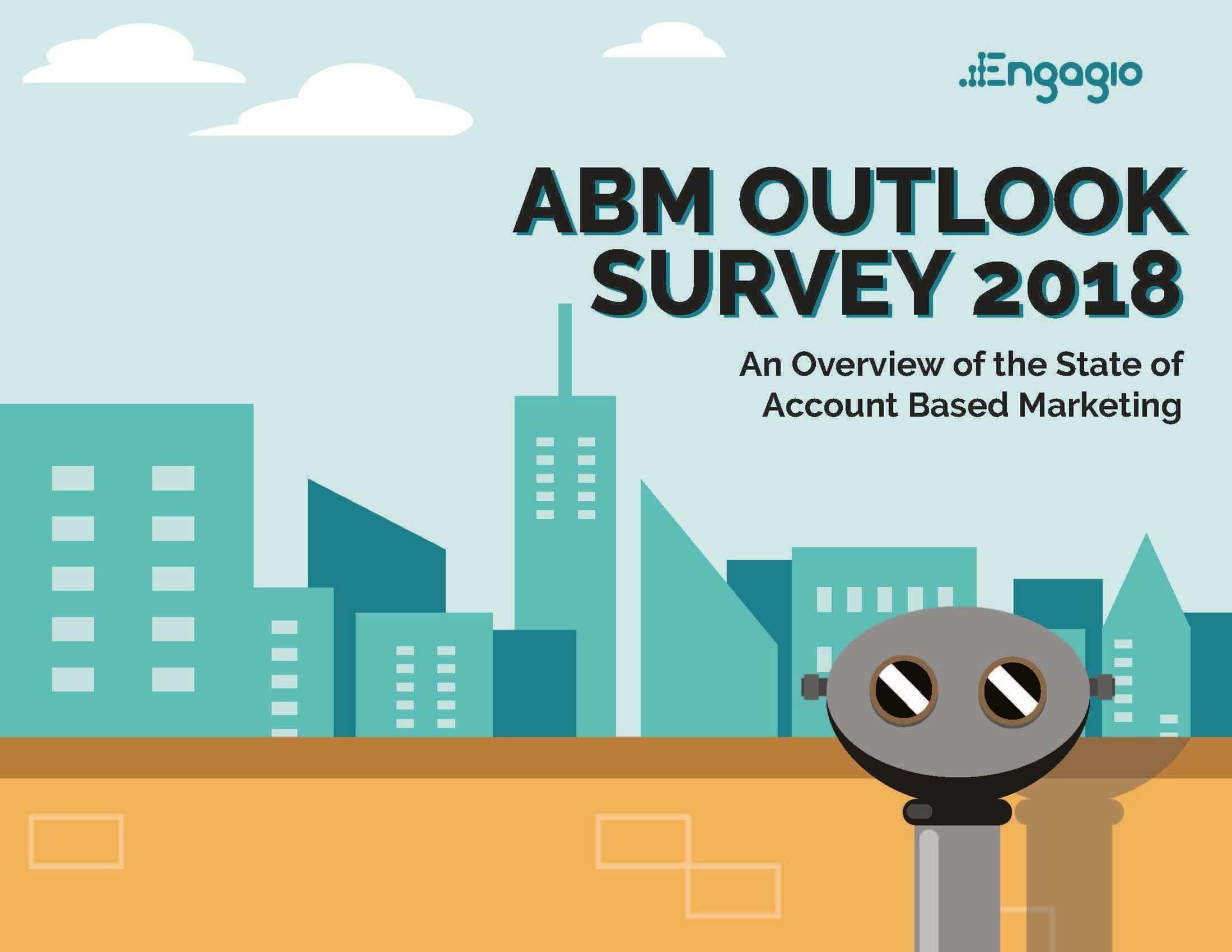 Engagio ABM Survey Report Cover