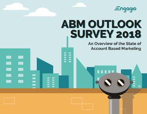 Engagio ABM Survey Report Cover