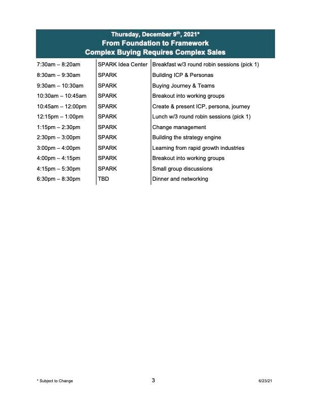 p3 23 June 21 Manufacturing Growth Summit Agenda